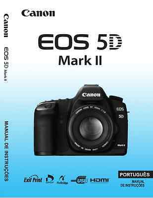 Canon 5D Markt II -Manual de instruçoes - Instructions Portuguese