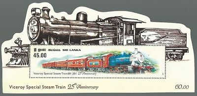 089.sri Lanka 2011  Unusual Stamp M/s Viceroys Special Train . Mnh