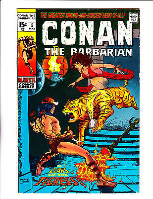 "Conan No.5  : 1971 :   : ""The Claws Of The Tigress!"" :"