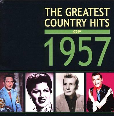 """2 CD Various """"The Greatest Country Hits of 1957"""""""