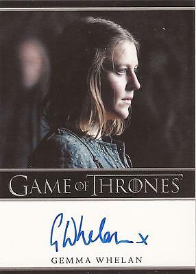 "Game of Thrones Season 2 - Gemma Whelan ""Yara Greyjoy"" Autograph Card"