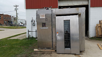 Hobart Addamatic Bakers Aid 1 Rack 277/480 Volt Natural Gas DRO2GH Oven Rollin