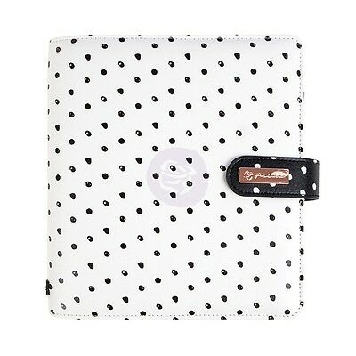 My Prima Planner Breathe  A5 6 Ring Undated Includes Inserts Faux Leather