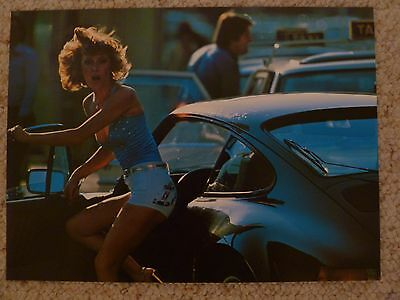 1978 Porsche 911 Coupe Showroom Advertising Sales Poster RARE!! Awesome L@@K