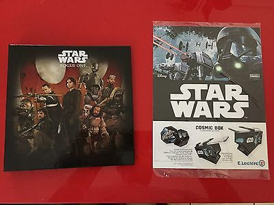 Album Star Wars Cosmic Shell  Rogue One complet 54 jet. +cosmic box Leclerc 2016