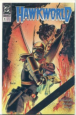 Hawkworld #4 (Sep 1990, DC), VF/NM