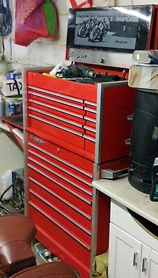 snap on tool box Top Box ,,Roller Cab ,keys And Shelf