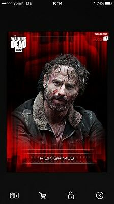 Topps The Walking Dead Trader Days Gone Bye Amy Digital Card