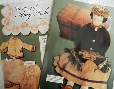 10p History Article +r Pics - Antique 1870 China Head Doll & Original Clothing
