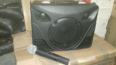 Adastra DT50 50w Portable PA System With 1 x  Wireless Microphone