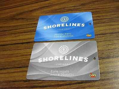 shorelines casinos blue and silver olg casino 1000 islands slot players cards