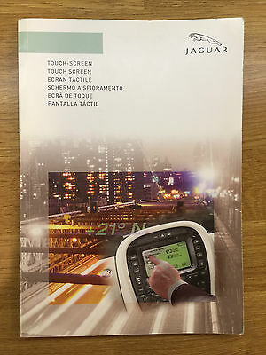 Jaguar Touch Screen Owners Manual Handbook For X-Type, S-Type & Xj Models