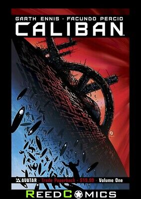 CALIBAN GRAPHIC NOVEL New Paperback Collects Issues #1-7 by Garth Ennis