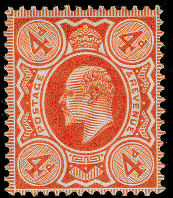 Sg240 SPEC M25(2), 4d pale orange, UNMOUNTED MINT. Cat £45.