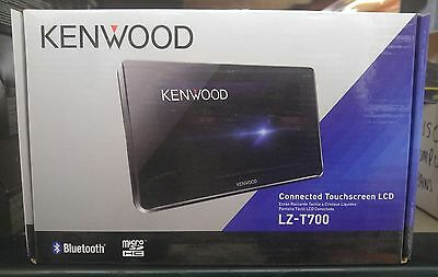"""Kenwood LZ-T700 7"""" Connected Touchscreen LCD--New In Box--Free Shipping!!!"""