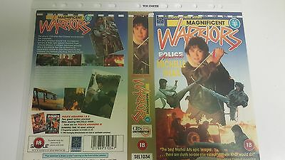 MAGNIFICENT WARRIORS Video Promo Sample Sleeve/Cover KUNG FU MICHELLE KHAN