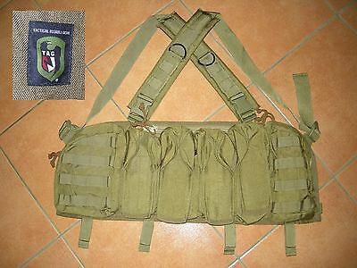 Tag Tactical Assault Gear Operator Chest Rig Coyote Tan Assault Vest Old Gen 04