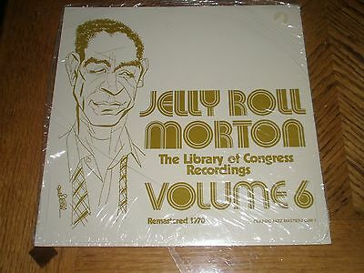 Jelly Roll Morton / Library Of Congress Vol. Six ~ New Mint ~ Sealed