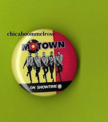 Temptations on Showtime 1980 pin pinback button badge  mint T