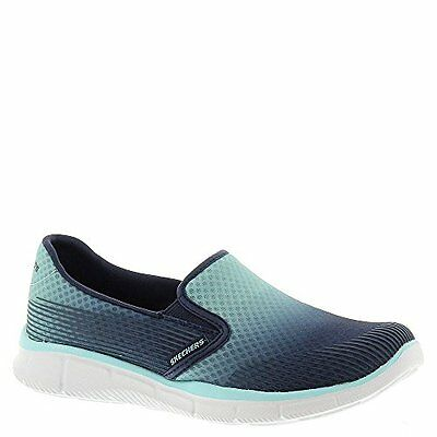 4f709eb3adb2 12184 Skechers Women s Size 5.5 Equalizer Space Out Slip On Sneaker Blue  Navy