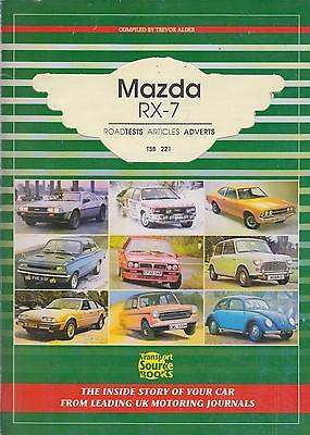 Mazda Rx-7 Rx7 Mk1 Coupe & Turbo 1979-1984 Period Road Tests Book