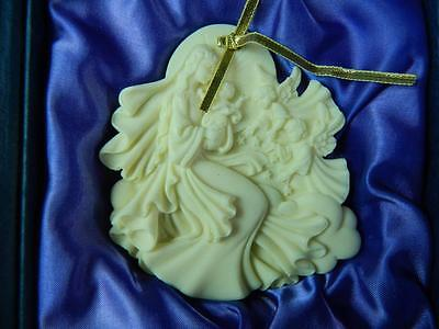 Roman Millenium Peace On Earth Mary Jesus Angels Christmas Ornament Ltd Ed COA