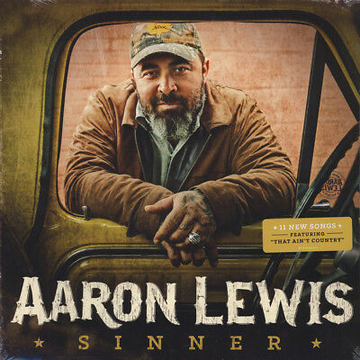 Aaron Lewis of Staind - Sinner (Vinyl LP - 2016 - US - Original)