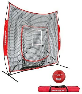 PowerNet Baseball Softall TBall Cricket Training Net  Deluxe