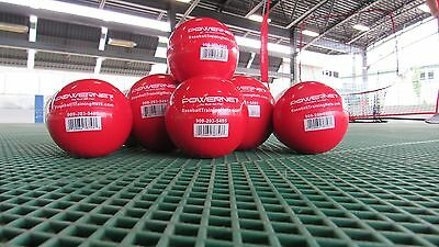 Weighted Training Balls X 6 Cricket Baseball Size
