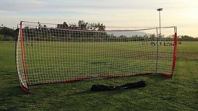 PowerNet Portable Soccer Goal 2.4m x 7.3m FFA Approved