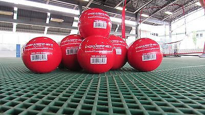 Large Weighted Training Balls X 6 Softball Size
