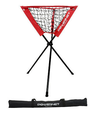 PowerNet Baseball Softball Cricket  Tennis Portable Practice Ball Caddy