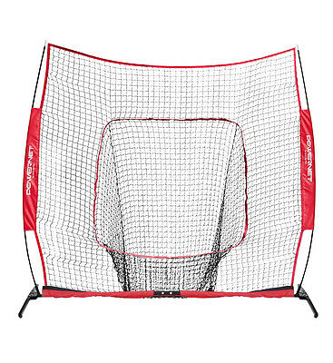 PowerNet XLP PRO 8x8 Hitting Net Baseball Softball Cricket