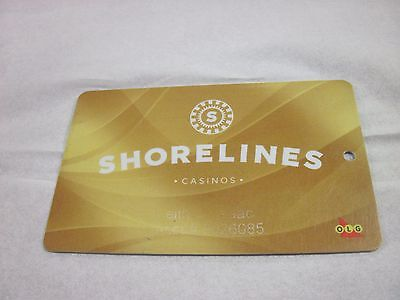 shorelines casinos gold card olg casino 1000 islands slot players card