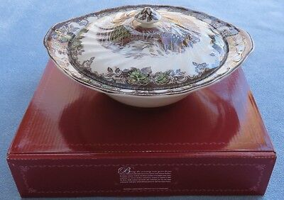 Johnson Brothers Friendly Village Covered Vegetable Bowl New in Box
