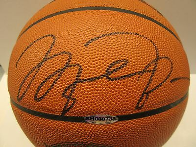 Michael Jordan Signed / Autographed Game Basketball UDA Upper Deck Authenticated