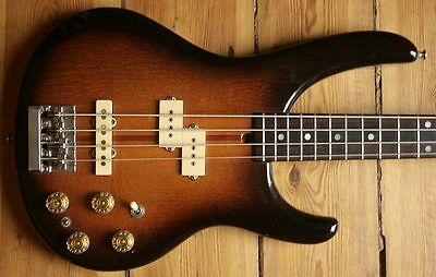 Extremely Rare 1982 Washburn Force 40 Made In Japan Neck Through Precision Bass