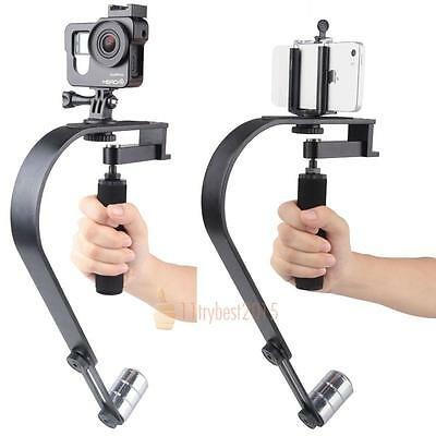 360° Handheld Handy Video Stabilizer Steadicam for iPhone Gopro Camera DV SLR UK