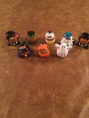 Mcdonald's Mcnugget Nuggets Buddies Halloween  Happy Meal Toy 1992 8 Pcs