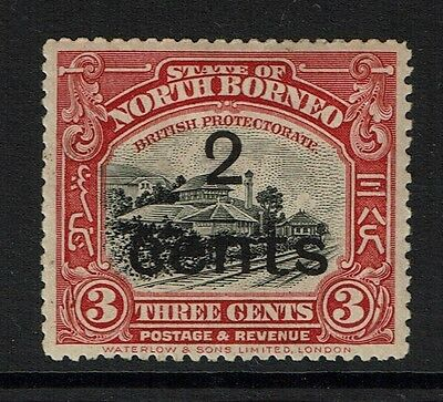 North Borneo SG# 186, Mint Hinged, Hinge Remnant - Lot 112316
