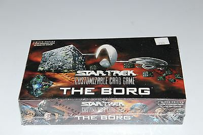 STAR TREK Card Game CCG THE BORG 30 pack/11 cards Sealed Expansion Booster Box