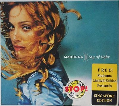 Madonna - Rebel Heart Rare Ray Of Light Limited Edition Postcards