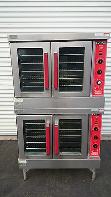 Vulcan Double-Stack Convection Oven in Natural Gas Model VC4GD-170