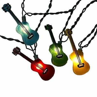 Holiday Lights Party Lights Acoustic Guitar - Free Shipping within US