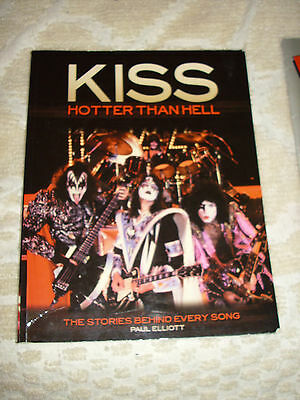 Kiss-Hotter Than Hell Book-The Stories Behind Every Song