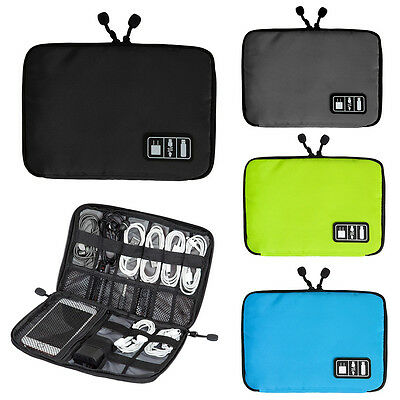 Digital USB Cable Earphone Accessories Insert Storage Organizer Bag Container