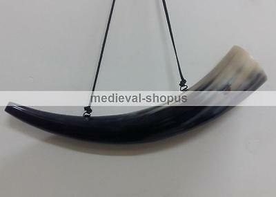 Viking blowing cow Horn Whistle Medieval Buffalo Sounding Horn Viking Norse
