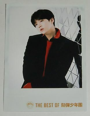 BTS The Best of Bangtan Boys Group Suga Japan Official Photo