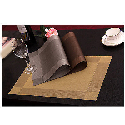 Kitchen Pro Warm Dining Room Pad  Mats Bowl Table Insulation Place Mat New