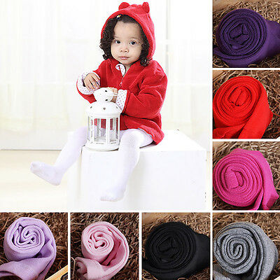 Newborn Toddler Baby Girl Solid Color Pantyhose Kid Tights Stockings Pants Witty